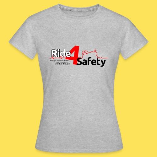 Ride4Safety - Maglietta da donna