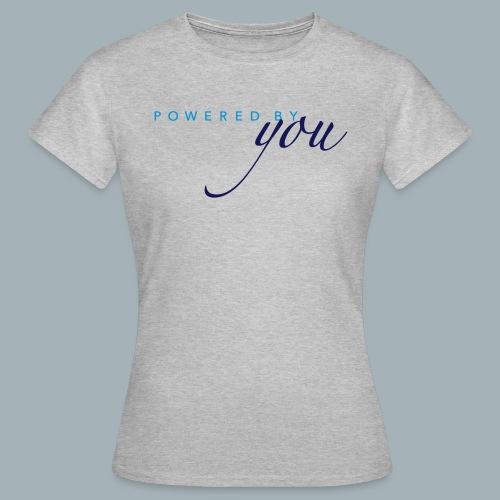 Powered By You Basketbal Shirt - Vrouwen T-shirt