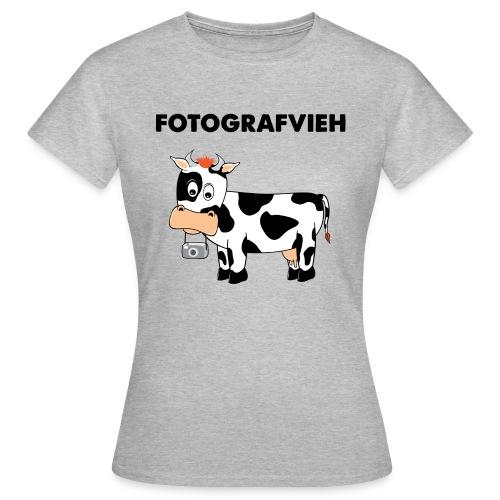 Fotografvieh - Frauen T-Shirt