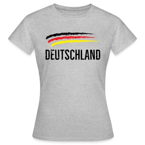 Deutschland, Flag of Germany - Women's T-Shirt