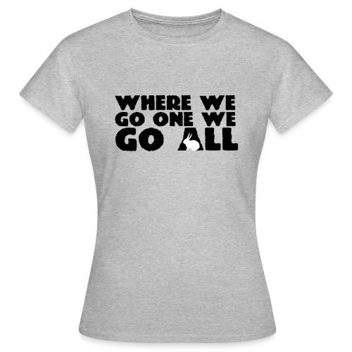 WWG1WGA pupu - Naisten t-paita