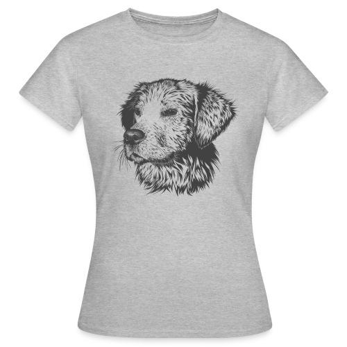 Mirada canina - Camiseta mujer