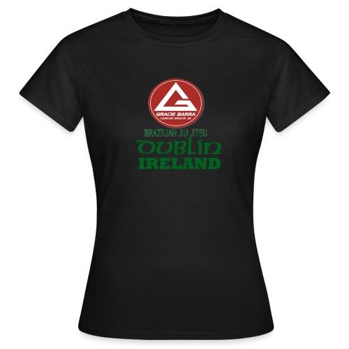 Gracie Barra Dublin Gaelic Celtic Font PNG - Women's T-Shirt