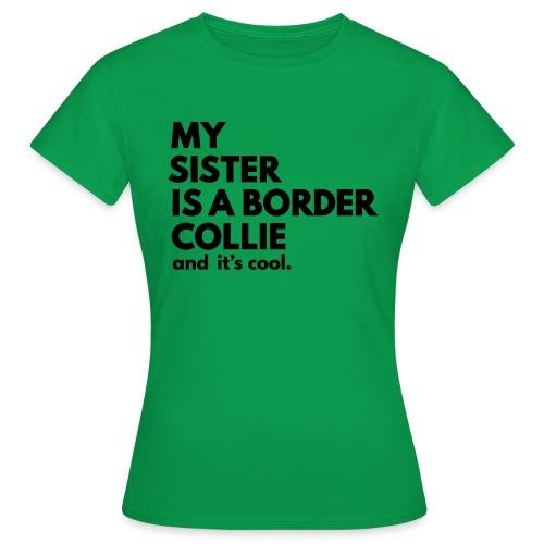 MSB_TEE_SISTER - T-shirt Femme