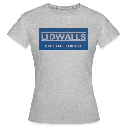 Lidwalls Stålbåtar - T-shirt dam