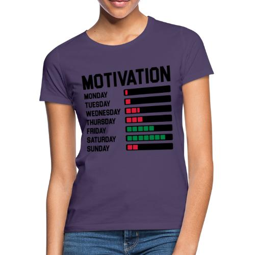 Wochen Motivation - Frauen T-Shirt