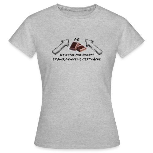 chocolat - T-shirt Femme