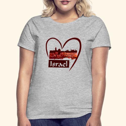 Jerusalem - I love Israel - Sunset - Frauen T-Shirt