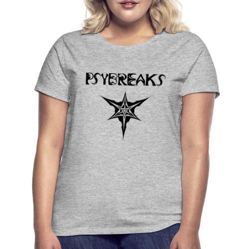 Psybreaks visuel 1 - text - black color - T-shirt Femme