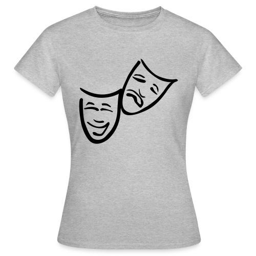 Theatermasken - Frauen T-Shirt