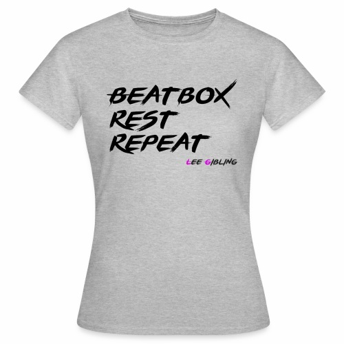 Beatbox Rest Repeat - Large - Women's T-Shirt
