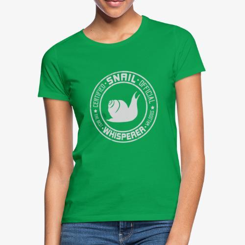 Snail Whisperer Grey - Naisten t-paita