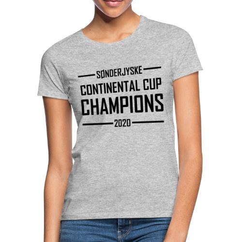 cc champ gold - Dame-T-shirt