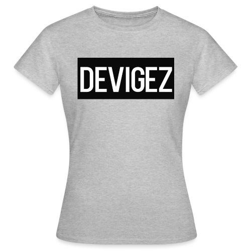 devigez black - T-shirt dam