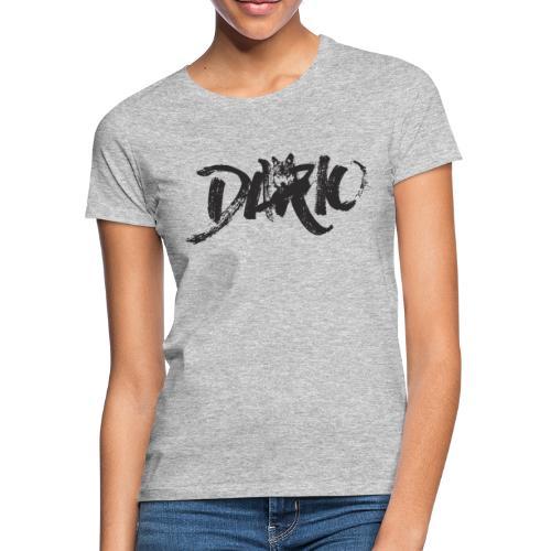 illustration logo noir - T-shirt Femme