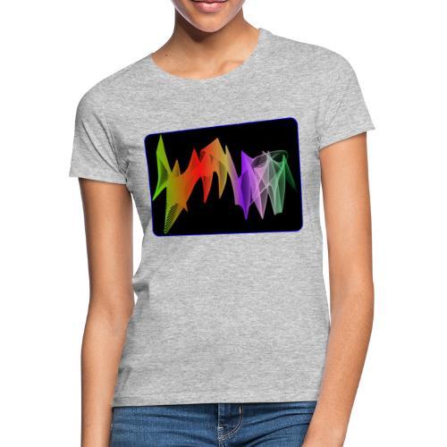 interpolierte zwei herzfrequenz - Frauen T-Shirt