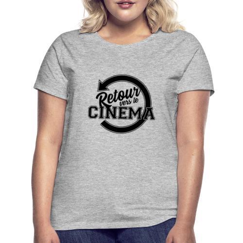 Logo Retour vers le Cinéma - T-shirt Femme