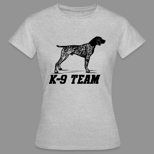 K-9 Team - German Shorthaired Pointer - Women's T-Shirt