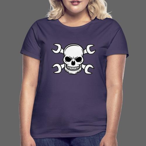 MEKKER SKULL - Dame-T-shirt