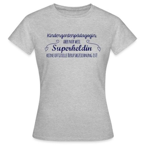 Stoffbeutel: Kindergartenpädagogin - Frauen T-Shirt