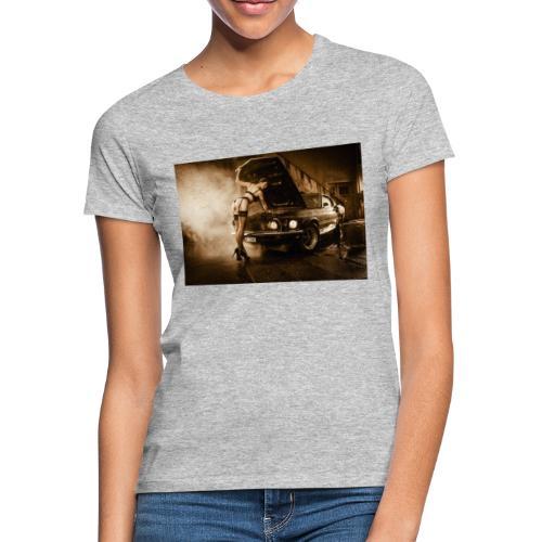 US Cars und Pinup-Girl Part II - Frauen T-Shirt
