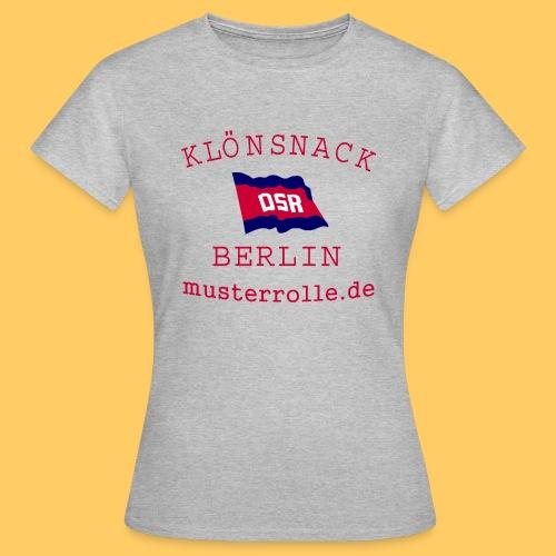 KiB-Logo-gif - Frauen T-Shirt