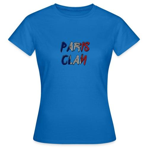 Parisclan Lettering - Women's T-Shirt
