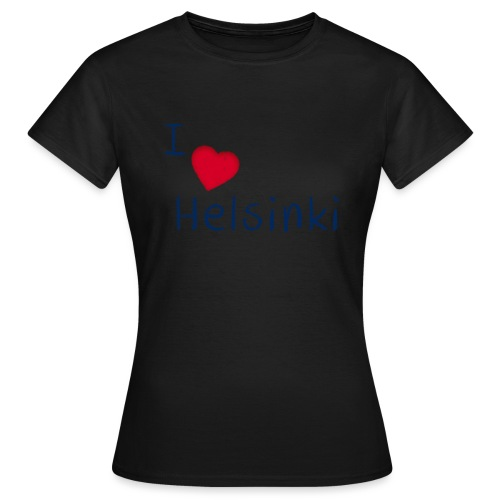 I Love Helsinki - Naisten t-paita