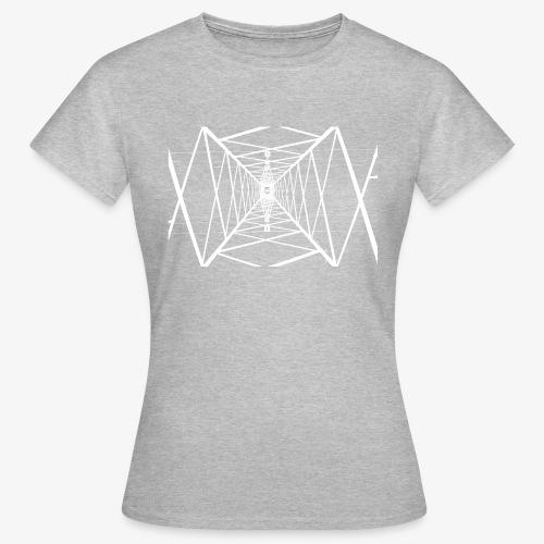 Quermast V2 Weiß - Frauen T-Shirt