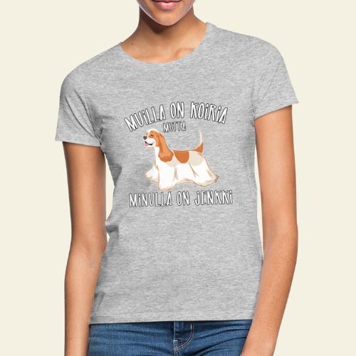 Jenkki Koiria - Naisten t-paita