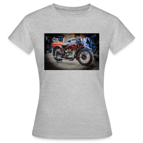 the motorbike davidon style - Women's T-Shirt