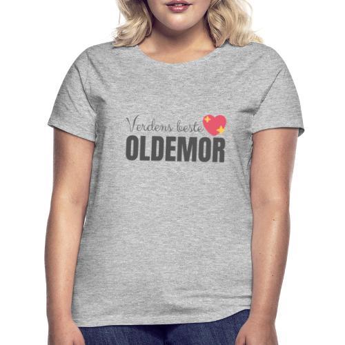 verdens beste oldemor - T-skjorte for kvinner