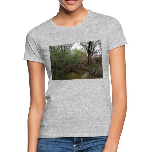 BIBER-STAUDAMM - Frauen T-Shirt