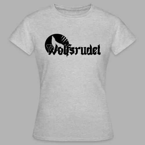 Logo Wolfsrudel EPS - Frauen T-Shirt