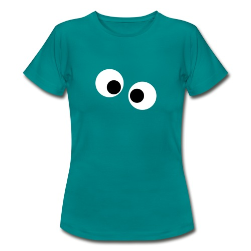 silly eyes - Vrouwen T-shirt