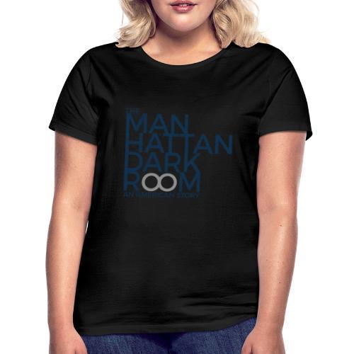 THE MANHATTAN DARKROOM BLEU GRIS - T-shirt Femme