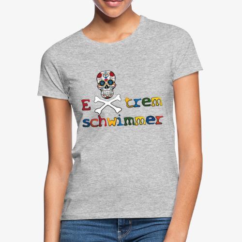 Ddl muertos - Extremschwimmer - Frauen T-Shirt