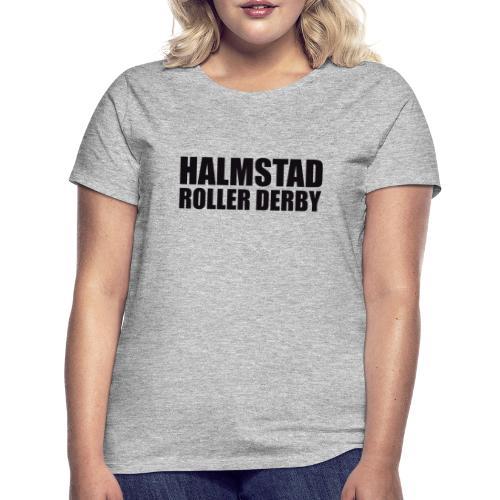 textlogga L - T-shirt dam