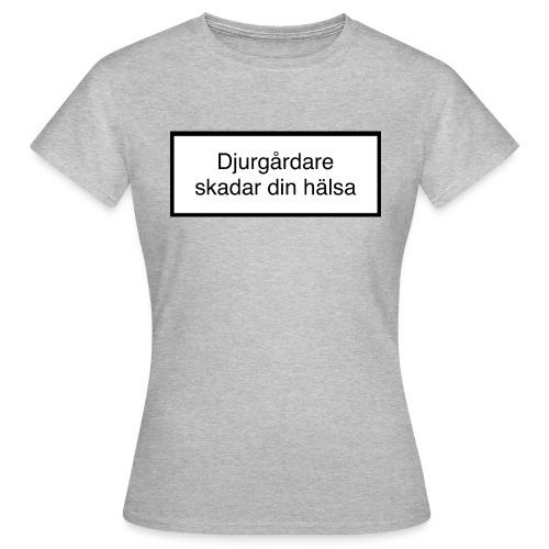 Djurgården Varningstext - T-shirt dam