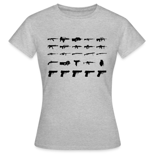 Guns - Frauen T-Shirt