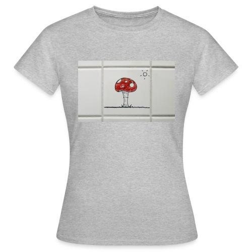 PILZ Klokunst - Frauen T-Shirt