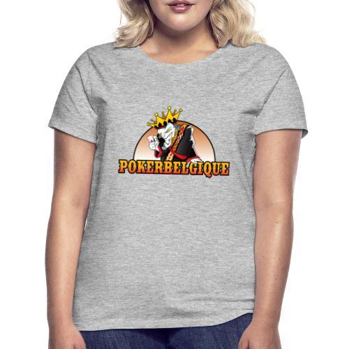 Logo Poker Belgique - T-shirt Femme