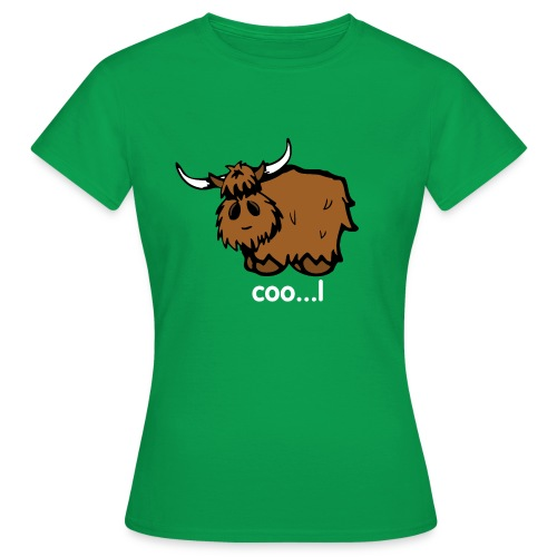 Cool Heilan Coo' - Women's T-Shirt