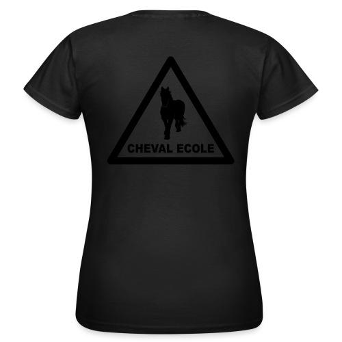 chevalecoletshirt - T-shirt Femme