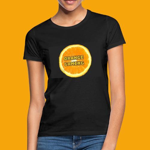 Orange_Logo_Black - Women's T-Shirt