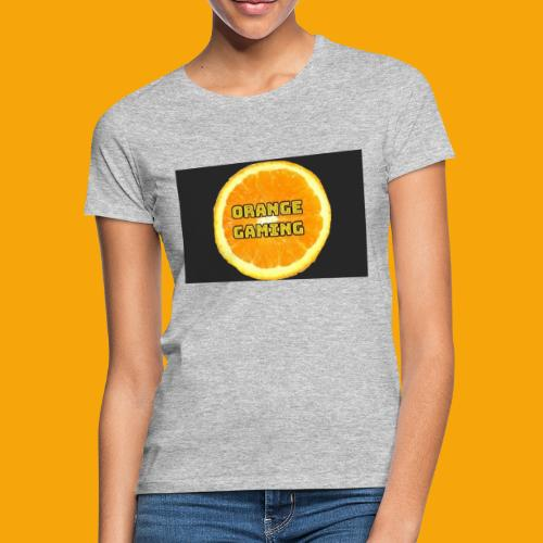 Orange_Logo_Black - Women's T-Shirt