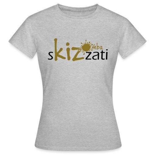Beanie in jersey con logo sKizzati Kizomba - Verde - Maglietta da donna