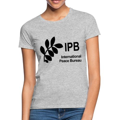 International Peace Bureau IPB Logo black - Women's T-Shirt