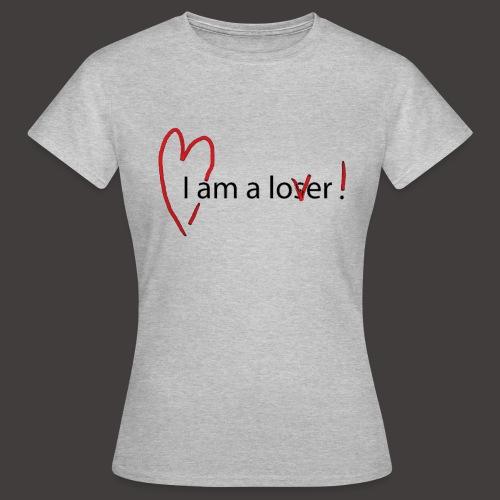 Lover - Black - T-shirt Femme