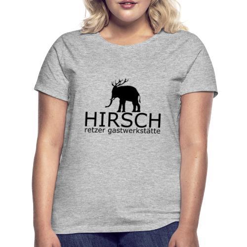 HIRSCH   BlackEditionX - Frauen T-Shirt